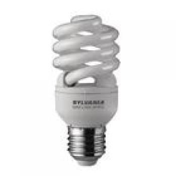 Leuchtstofflampe E27 Spiral 15 W 900 lm 2700 K