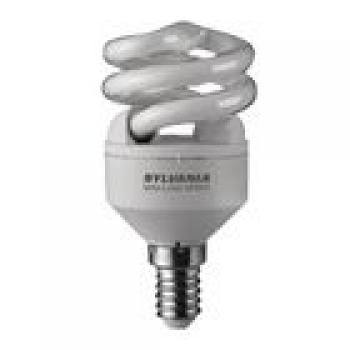 Leuchtstofflampe E14 Spiral 9 W 450 lm 2700 K