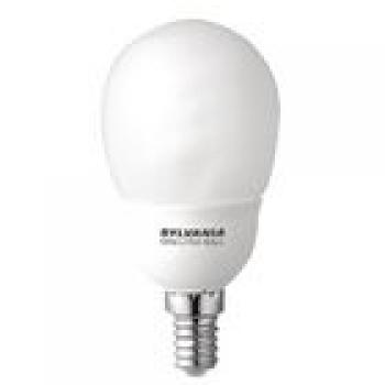 Leuchtstofflampe E14 Globe 9 W 450 lm 2700 K