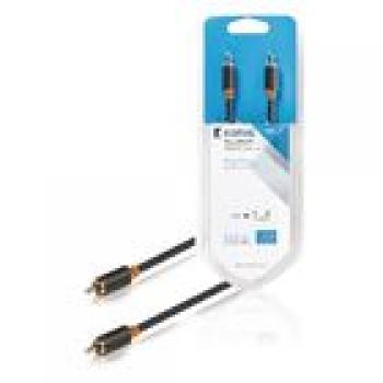 Digital-Audio-Kabel RCA male - RCA male 1.00 m Anthrazit